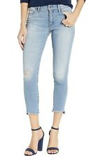 Lucky Brand Women's Jeans Blue Size 0X25 Denim Distressed Cropped $69 #284