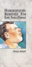 Homoeopathic Remedies for Ears, Nose & Throat