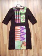 @ DESIGUAL @ Kleid Etuikleid schwarz Muster Size S Gr. 36 UK 8 US 6 B/ 38 I/E 38