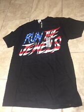 Run The Jewels American Flag T Shirt Size Extra Small XS El P Killer Mike NWT