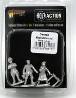 Bolt Action WGB-HR-03 German High Command (WWII) Field Officers & Map Table NIB