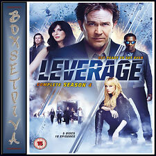 LEVERAGE - COMPLETE SERIES SEASON 4  **BRAND NEW DVD **