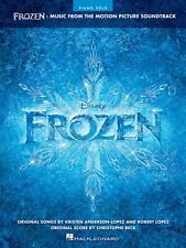 Frozen Sheet Music from Movie Soundtrack Piano Solo SongBook NEW 000128220