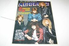 #179 KERRANG music magazine - LED ZEPPELIN - ANTRAX
