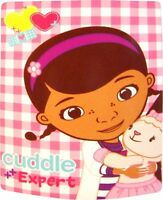 Disney Doc Mcstuffins 'Patch' Panel Fleece Blanket Throw Brand New Gift