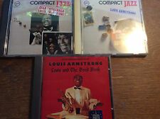 Louis Armstrong [3 CD Alben] Compact Jazz + Ella Fitzgerald + The Good Book