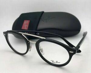 New RAY-BAN Eyeglasses RB 5354 2000 48-21 145 Classic Black & Silver Frames