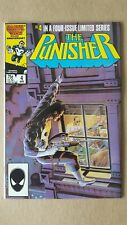 Punisher #4 (Marvel Comics) 1986 Mini Series ~ Mike Zeck ~ High Grade VF+