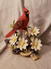 2002 Andrea by Sadek Cardinal Hand Painted Porcelain Figurine #9745