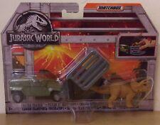 Jurassic World ~ Tricera Tracker ~ Matchbox Dino Transporters