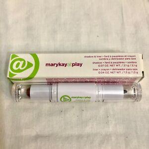 Eye Shadow & Liner Mary Kay At Play REBEL ROSE Make Up Crayon NEW IN BOX