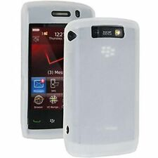 Genuine Blackberry Storm (9520, 9550) Pelle in Silicone Bianco –