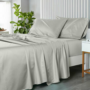 Luxury bamboo CoolPlus Softest Bed Sheets OR Pillowcases 450 Thread Count