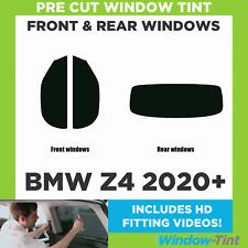 Pre Cut Window Tint - BMW Z4 2020 Full Kit