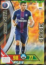 460 THIAGO SILVA PARIS SAINT-GERMAIN PSG CRACKS CARTE CARD ADRENALYN 2018 PANINI