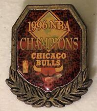 Vintage 1996 NBA Champions Chicago Bulls Lapel Hat Pin Pinback ~ Michael Jordan