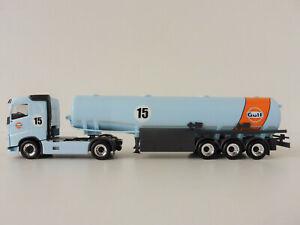 Volvo Fh Gulf Oil 1/87 H0 Herpa 311793 Fuel