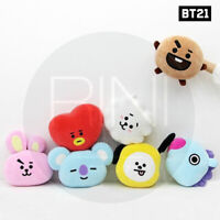 BTS BT21 Official Authentic Goods Mochi Face Cushion 30cm + Tracking Code