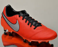 Nike Tiempo Mystic V FG 5 men soccer cleats football light crimson 819236-608
