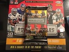 2018 Rookies & Stars Football Jersey Relic Or Patch Relic Or Auto-Relic Hot Pack