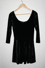 New Look Generation Designer Casual Black Dress Boat Neckline Multi 164-170cm