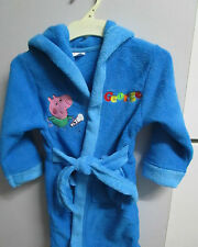 Boys Peppa Pig George Dressing Gown Size 2,4,5 & 6   PICK UP ARUNDEL