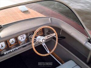Premium Boat Steering Wheel Decem Wood For Glastron Teleflex Ultraflex Steeromg