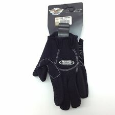 Harley-Davidson Womens Racer Mesh full finger Black Glove XL 97382-13VW