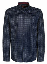 Collared Polo Spotted Casual Shirts & Tops for Men