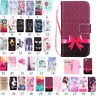Magnetic Pattern PU Leather Flip Wallet Case Cover For iPhone 8 Plus/7 6s 5 SE X
