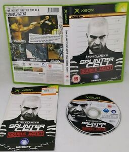 Tom Clancy's Splinter Cell Double Agent XBOX CIB  Good Condition FAST FREE POST