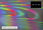 Beugungsgitter Optisches Gitter Diffraction Grating Sheet Linear 1000 lines/mm