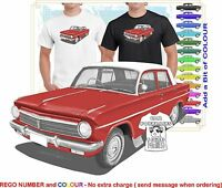 CLASSIC 63-65 EH HOLDEN SEDAN ILLUSTRATED T-SHIRT MUSCLE RETRO SPORTS