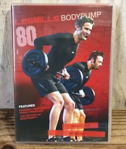 Les Mills Body Pump Release #80 DVD CD Notes