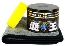 SOFT99 The King of Gloss Black Wachs Versiegelung 300 g + Schwamm & Poliertuch
