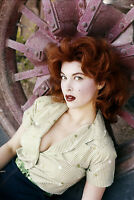 Tina Louise 11x17 Mini Poster raunchy vintage color pose