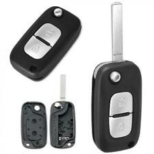 2 Button Flip Key Fob Case Shell Fit for Renault/Fluence/Clio/Megane/Kangoo/Clio