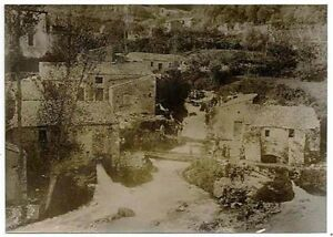 Caposele Avellino Origini Acquedotto Pugliese (in costruzione) 1914 Puglia S859