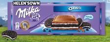 Milka Chocolate Oreo,GIANT 300g Bar, New Stock. FREE Post! Great Gift.