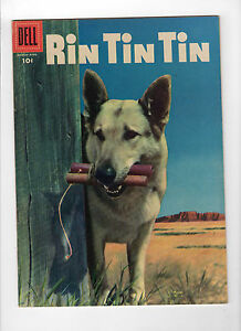 Rin Tin Tin #12 (Mar-Apr 1956, Dell) - Very Good