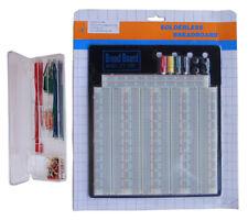 Tektrum Solderless 3220 Tie Points Experiment Plug In Breadboard Kitsolid Wires