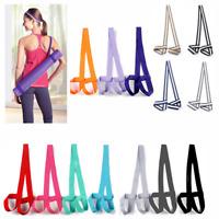 Adjustable Yoga Mat Sling Holder Fitness Exercise Carry Strap Belts for Outdoor