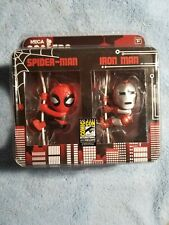 2014 SDCC Neca Scalers Spider-Man and Iron Man