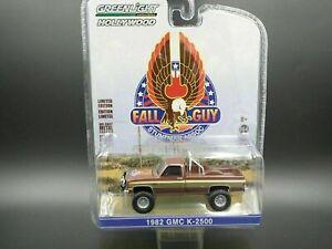 GREENLIGHT 1982 GMC K2500 4X4 SQUARE BODY TRUCK THE FALL GUY HOLLYWOOD SER 26