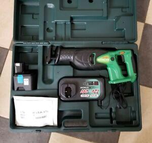 Hitachi Hikoki CR 18DV Cordless Reciprocating Saw + Battery + Charger & Case