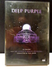 DEEP PURPLE IN CONCERT WITH THE LONDON SYMPHONY ORCHESTRA  -  DVD NON SIGILLATO