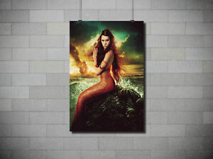 HD Canvas Printed Painting Wal lMermaid No Frame Home Decoration 3sizes#D007