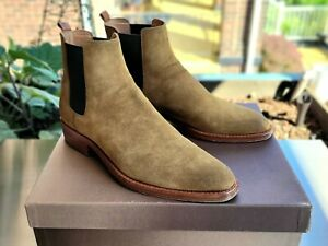WORN ONCE Buttero Quentin Western Chelsea Boots 42.5 US10 Brown Suede $681