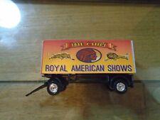 Return of a legand Ho Scale Ras Big Chief Circus Wagon