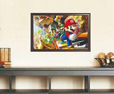 Unframed Super Mario Luigi Canvas Print High Quality Home Decor